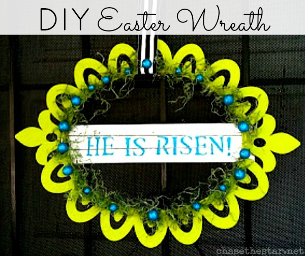 Easter Wreath {Tutorial}