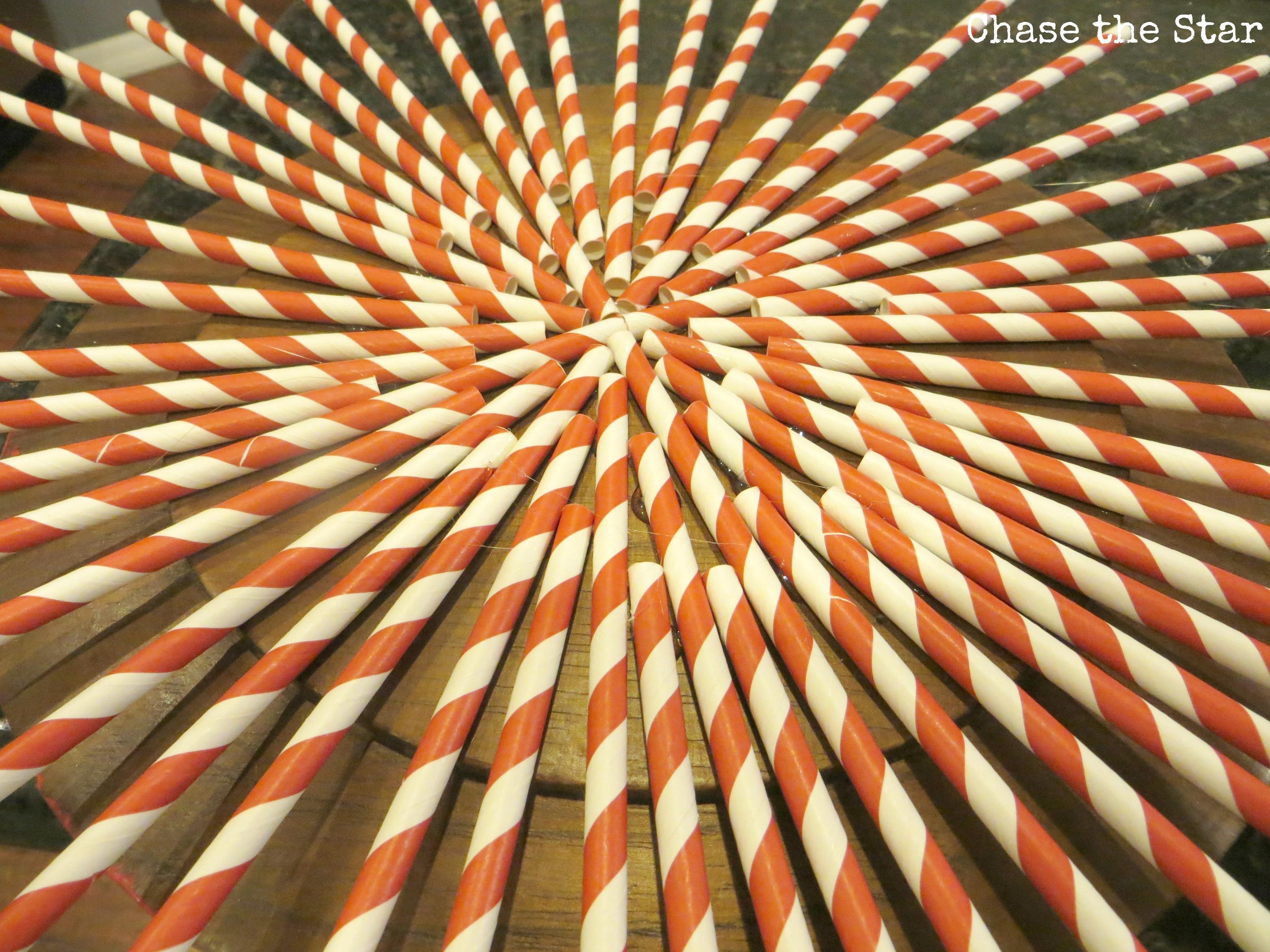sunburst, valentines day, love, heart, red and white, cardboard straws