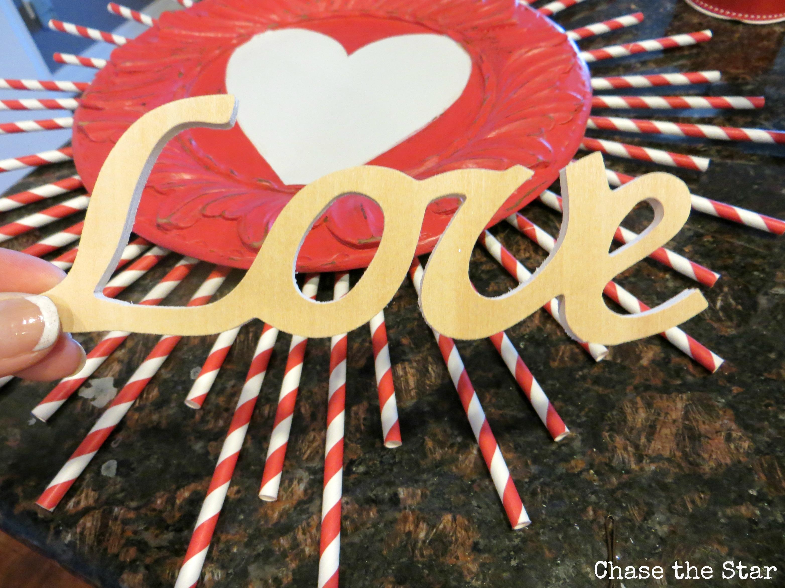 love, wood applique, valentines, diy, craft