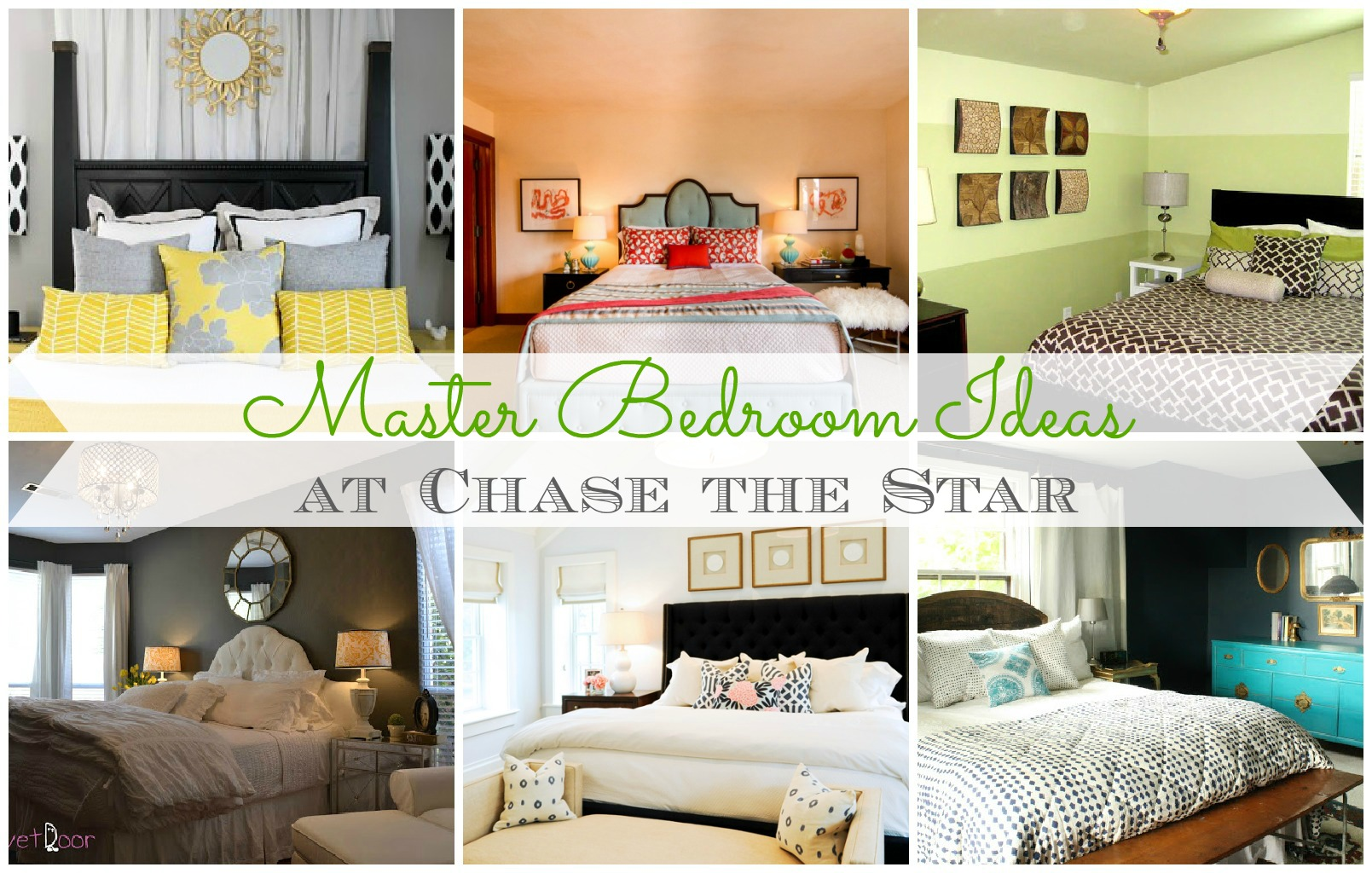 bedroom picture collage ideas - Master Bedroom Ideas