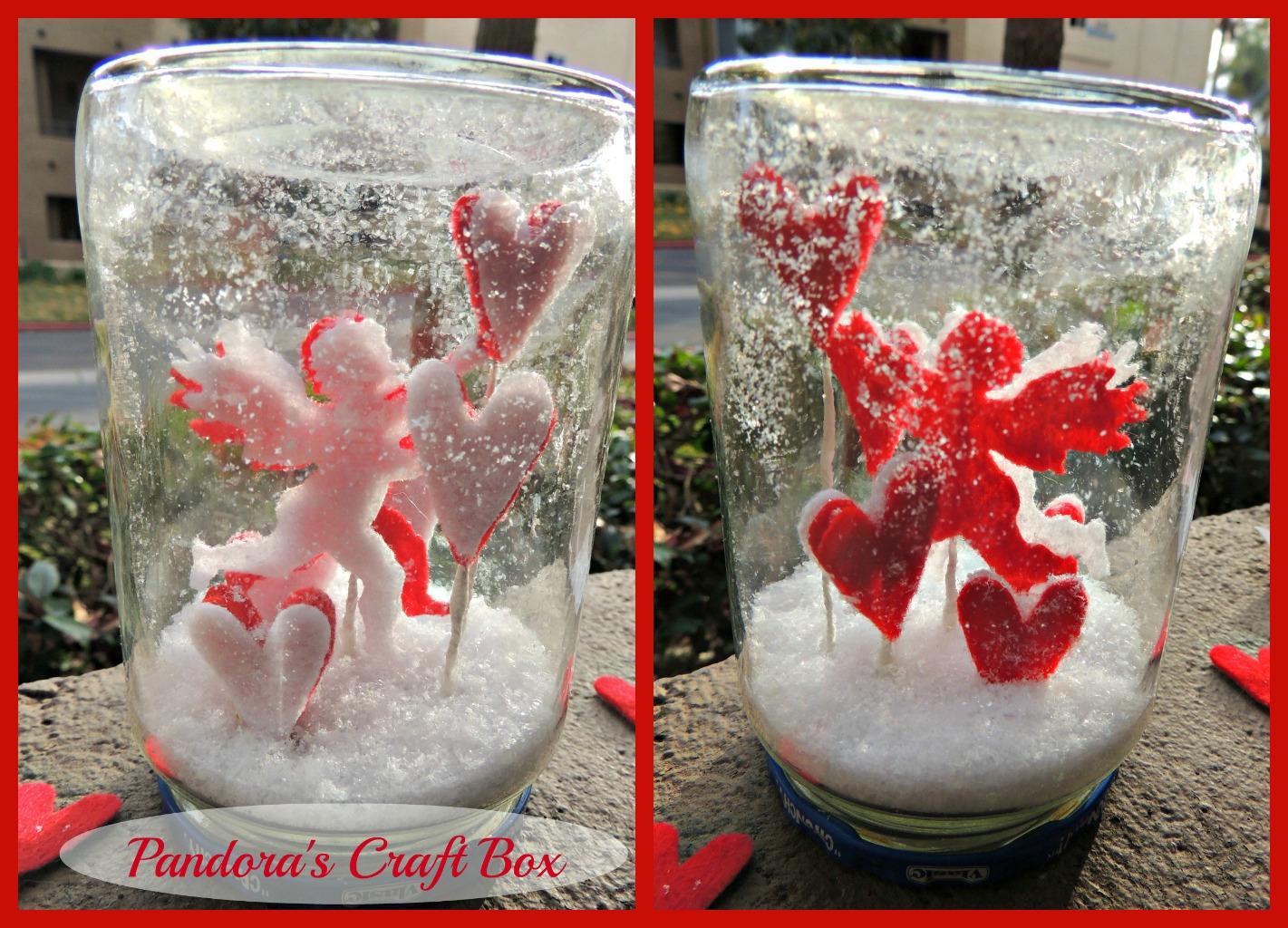 valentines snowglobes