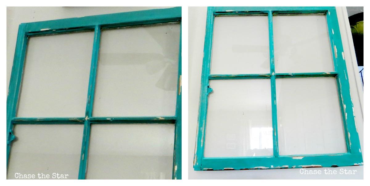 Vintage Window Makeover