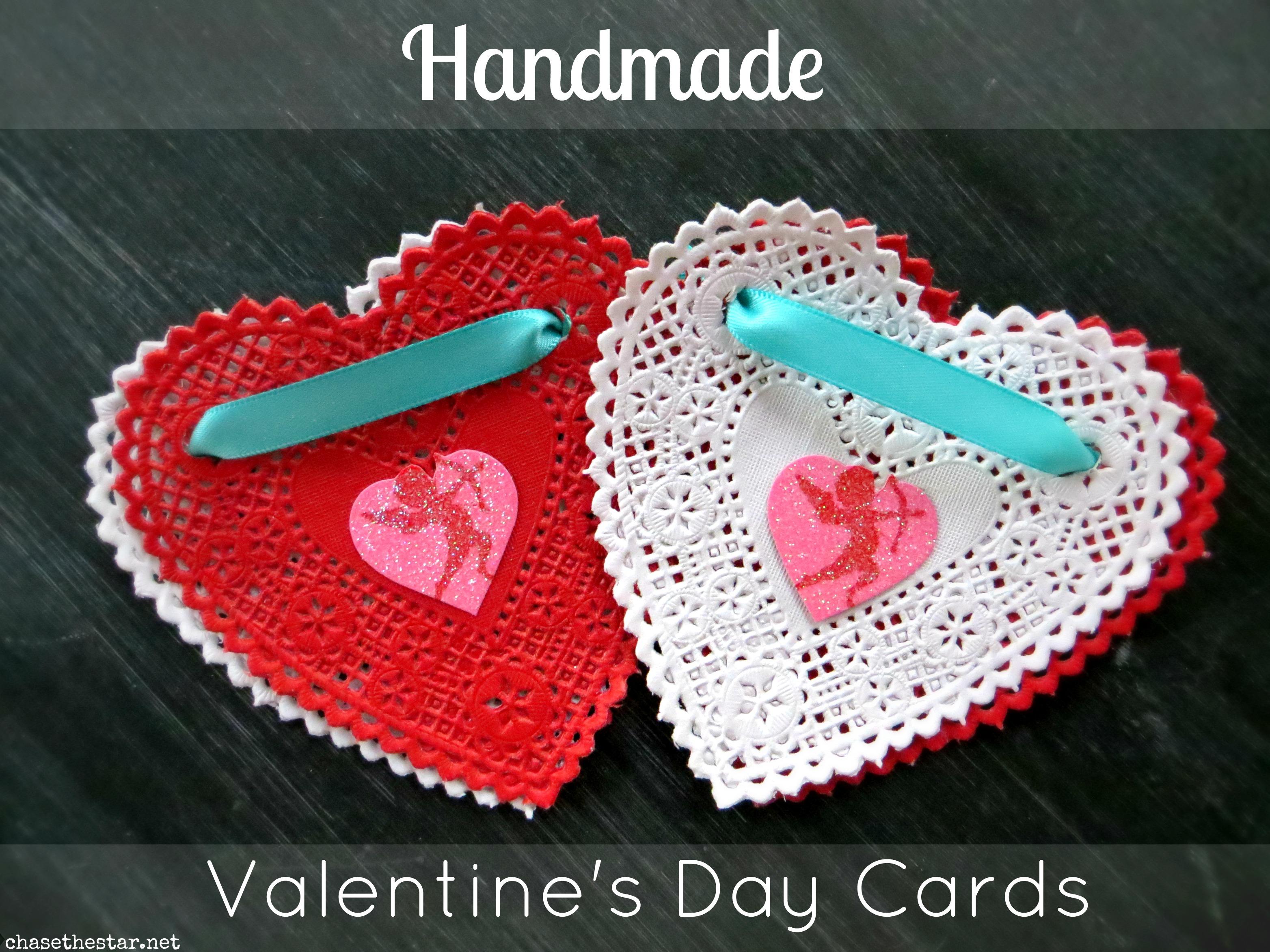 Handmade Valentine's Day cards #diyvalentines hellolifeonline.com