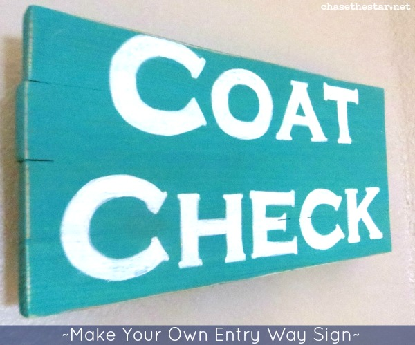 Chalk Transfer Method And Starting The Entry Way Makeover
