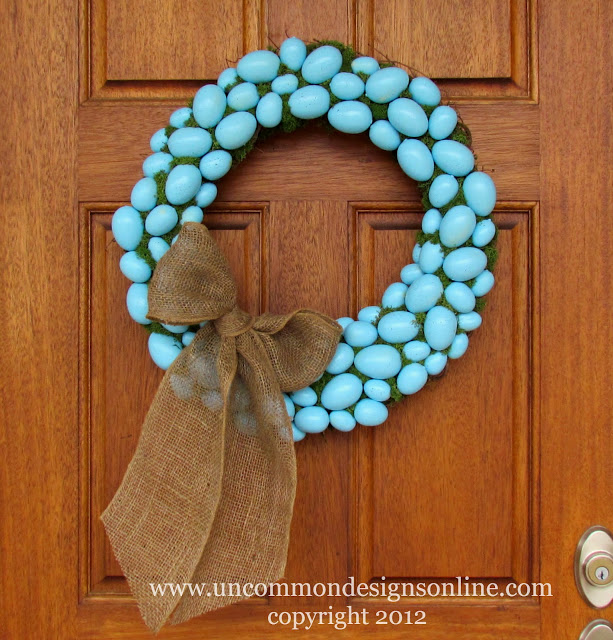 easter wreath, uncommon designs