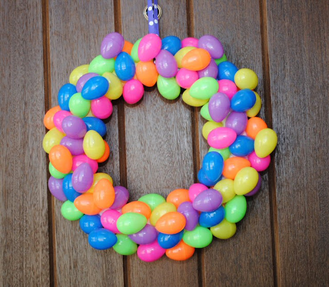 easter wreath, crazy little projects