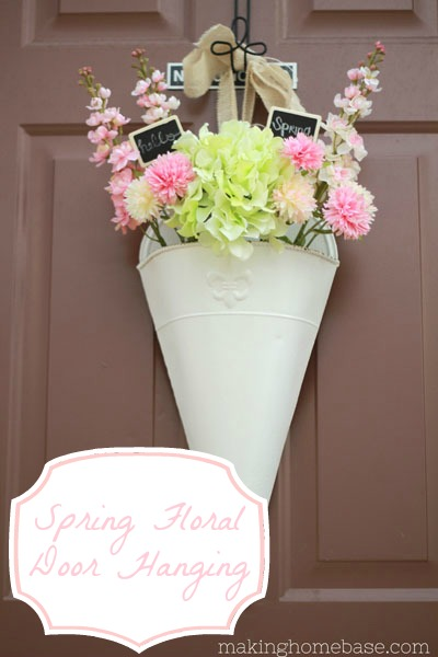 Spring Decor, Making Home Base