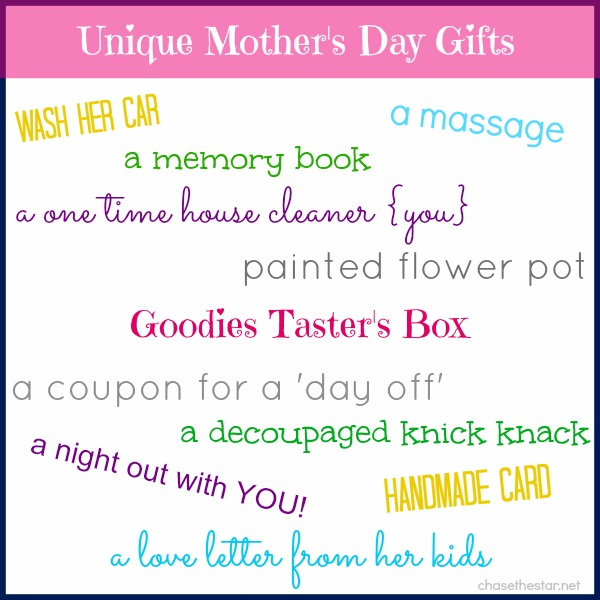 Show your Mom you really care, with these Unique Mother's Day Gifts! #mothersday #gift