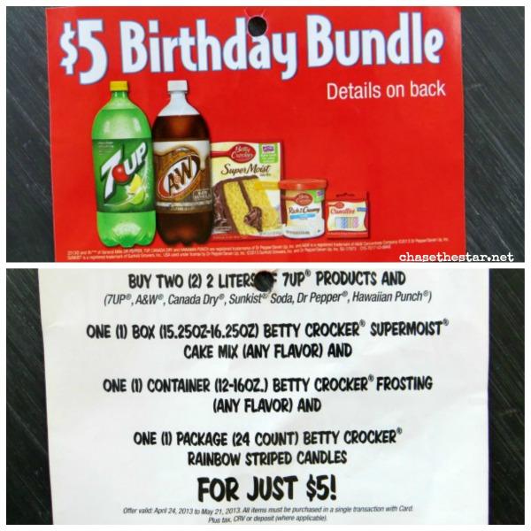 Birthday Bundle at Safeway! Sweet Deal! #birthdaybundle #pmedia