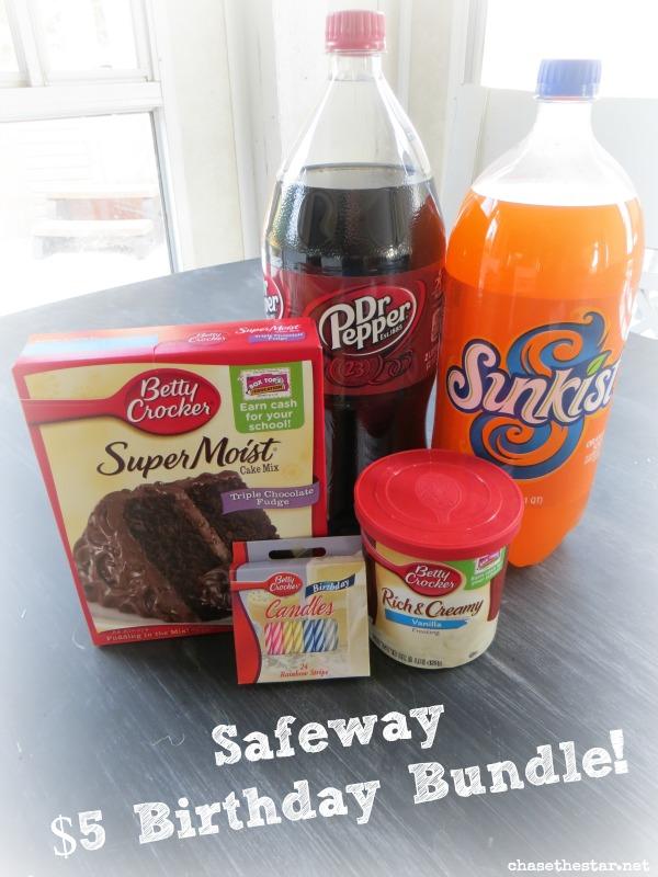 Birthday Bundle at Safeway for just $5! Sweet Deal! #pmedia #birthdaybundle