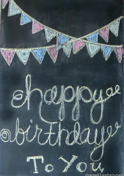 Easy and thrifty party! #birthdaybundle #pmedia