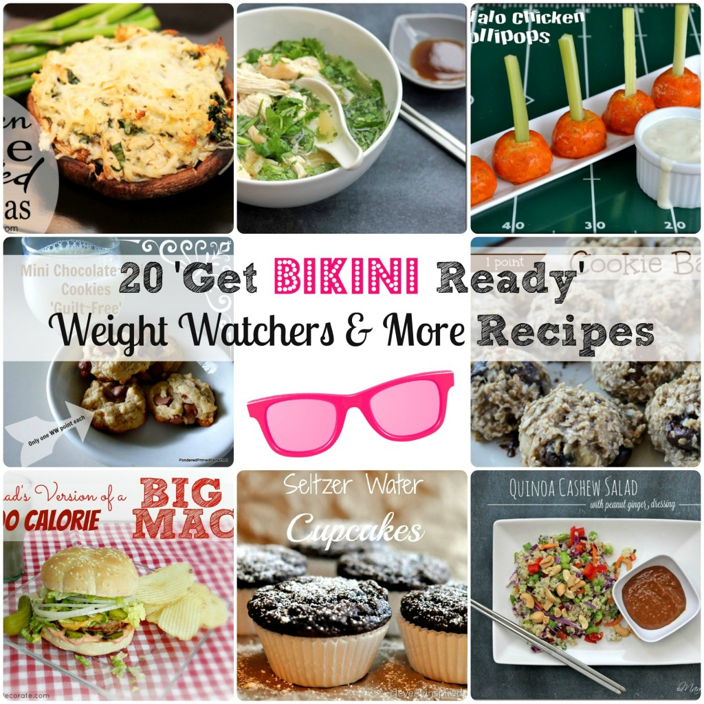 Get Bikini Ready Recipes! #weightwatchers #fitness #healthy