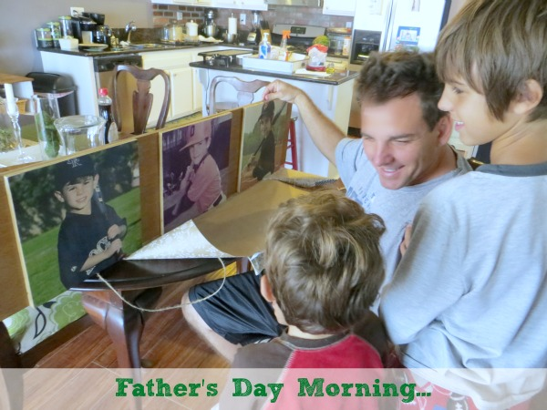 DIY Photo Gift #fathersday #gift #DIY #photo #craft #modpodge