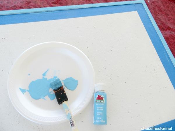DIY Chalk and Bulletin Board #chalkboard #bulletin #DIY #kids #washi
