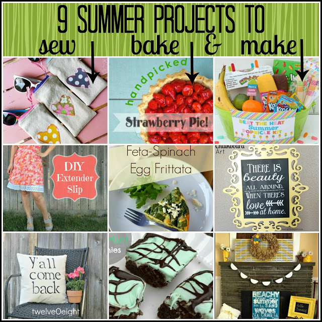 9 Projects to Sew, Bake, and Make!