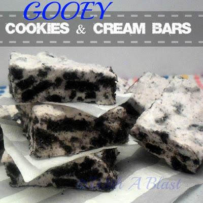 Gooey Cookies & Cream Bars