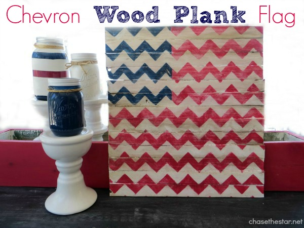 DIY Wood Flag {4th of July Craft}