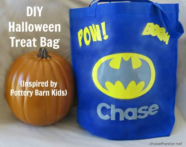 DIY Treat Bag via Chase the Star #pbkhalloween