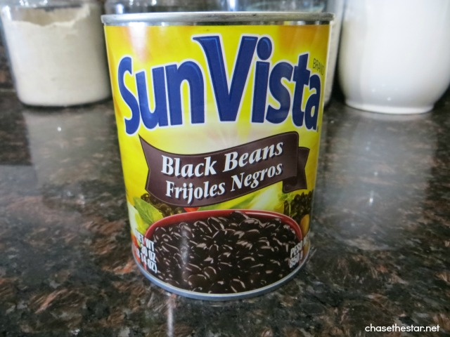 Easy Cuban Black Beans Recipe via Chase the Star #blackbeans #easyrecipe #recipe #cubanstyle