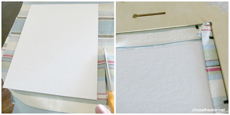 Framed Fabric and a Cut It Out Review and Giveaway via Chase the Star #CutItOut #Frames