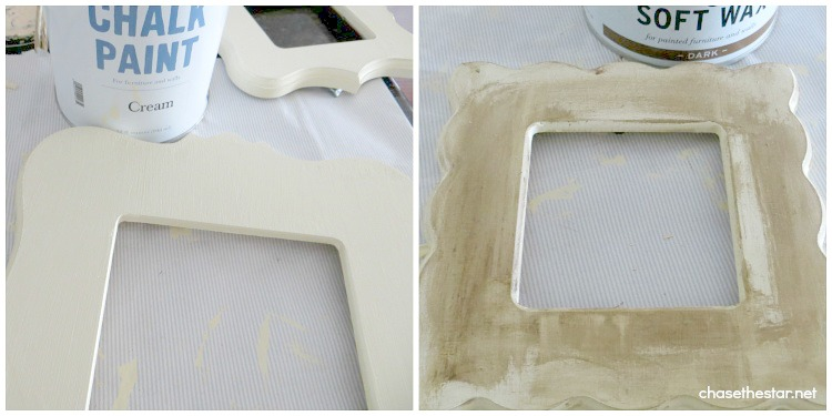 Painted and Distressed Frames; Cut It Out Review and Giveaway via Chase the Star #CutItOut #Frames