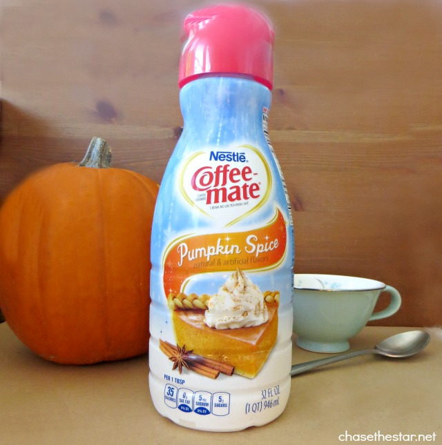 #CoffeeMate Pumpkin Spice Latte #Recipe by Chase the Star #shop #cbias #ad #loveyourcup