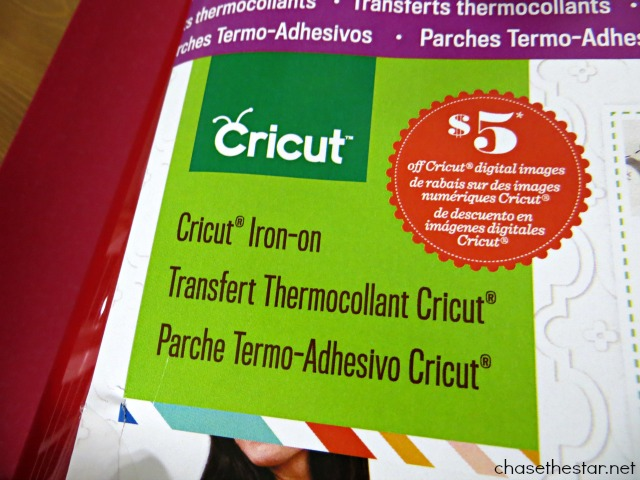 Cricut Iron-On review by Chase the Star