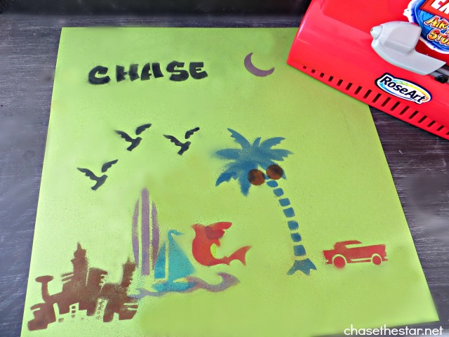 Kids Art Project #RoseArt Extreme Airbrush Studio via Chase the Star