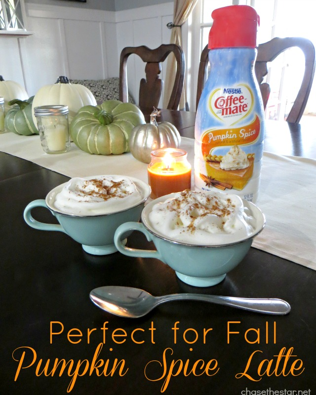 Pumpkin Spice Latte via Chase the Star #CoffeeMate #shop #cbias #ad #loveyourcup