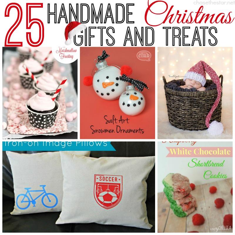 25 Handmade Christmas Gifts and Treats via Chase the Star