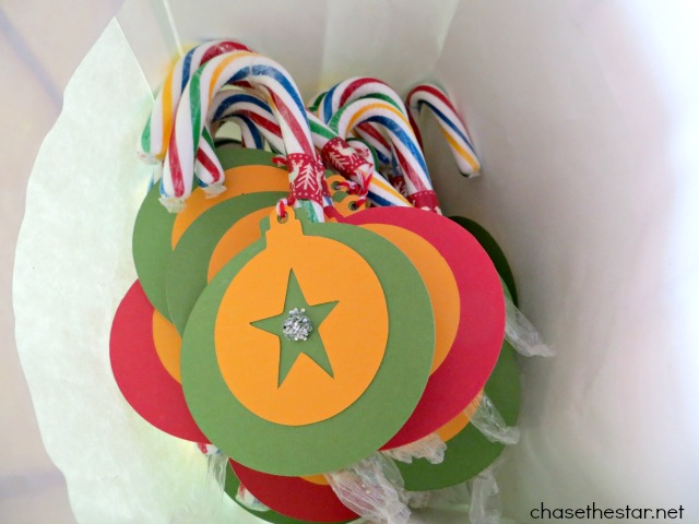 Great class gifts, #cardstock #Christmas ornaments! via Chase the Star