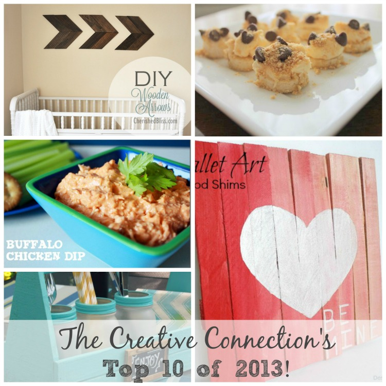The Creative Connections Top 10 of 2013 #yearInReview #Blogger #top10