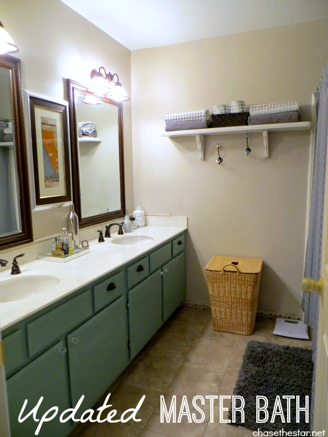 Updated master bathroom for Master bath accessories
