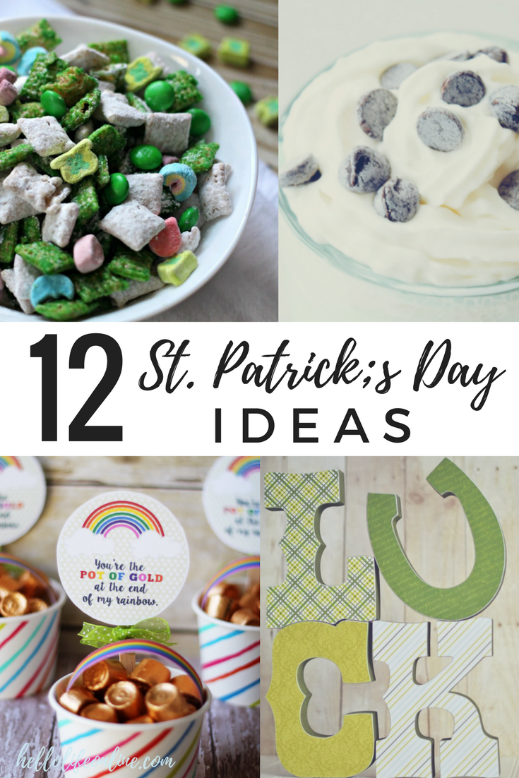 St. Patrick's Day Ideas-  A collection of St. Patrick's Day treats, crafts, printables, decorations, food, and treats!