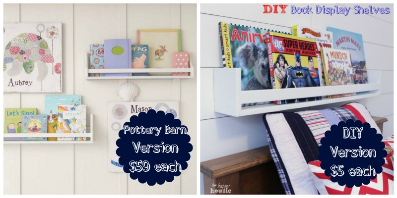 DIY-Book-Display-Wall-Shelves-Pottery-Barn-Knockoff-at-the-happy-housie