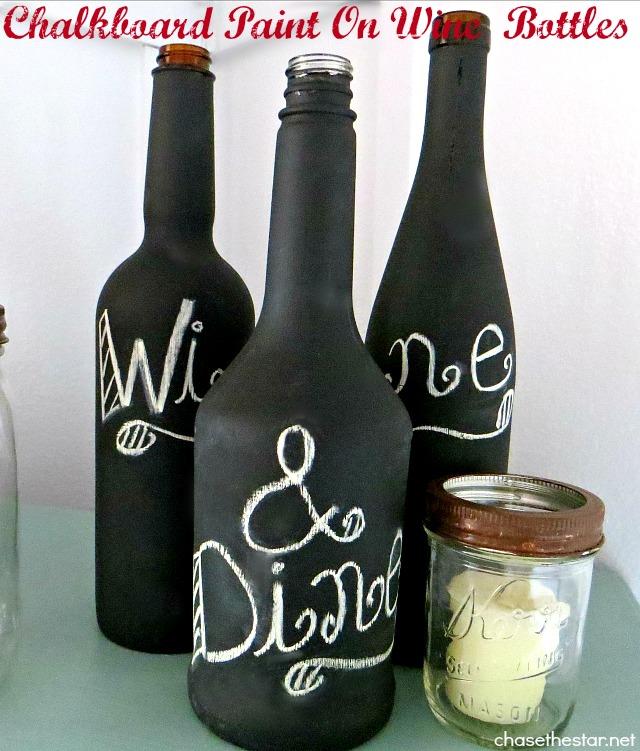 Diy wine bottle art solutioingenieria Image collections