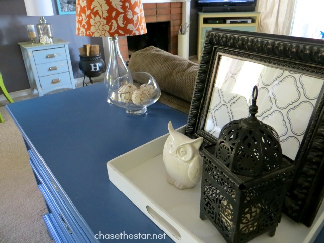 Entry Way Table before3 via Chase the Star #AmyTangerine