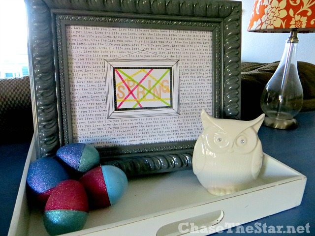 Get ready for #Easter with DIY Art and Glitter Blasted eggs!