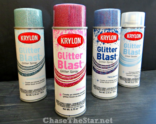Krylon Glitter Blast Glitter Spray! @KrylonBrand
