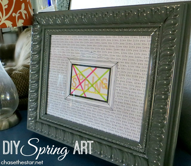 New 'Spring' Sign with #AmyTangerine and #HSN! via Chase the Star