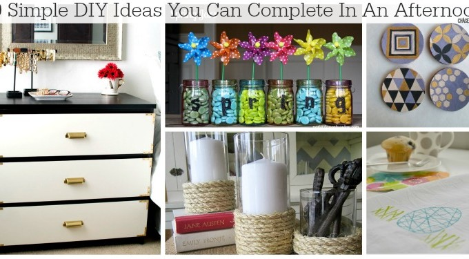 10 Simple DIY Ideas