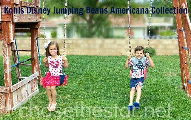 Disney Jumping Beans American Collection at #Kohls #Sponsored #MC #MagicAtPlay via Chase the Star #chasethestar #giveaway