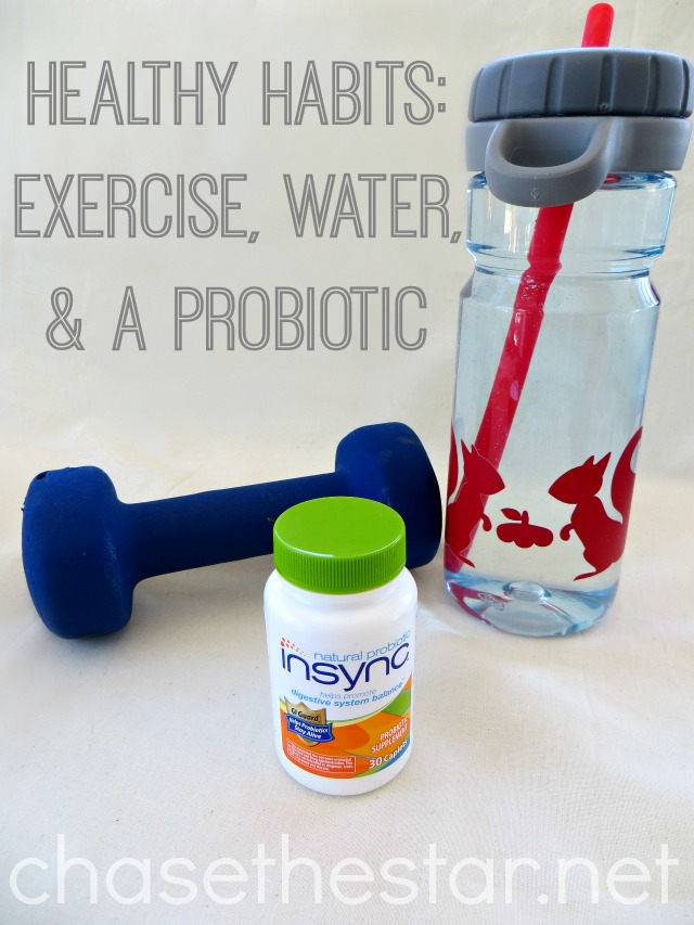 Healthy Habits Exercise, water, and a #NaturalProbiotic via Chase the Star #collectiveBias #shop