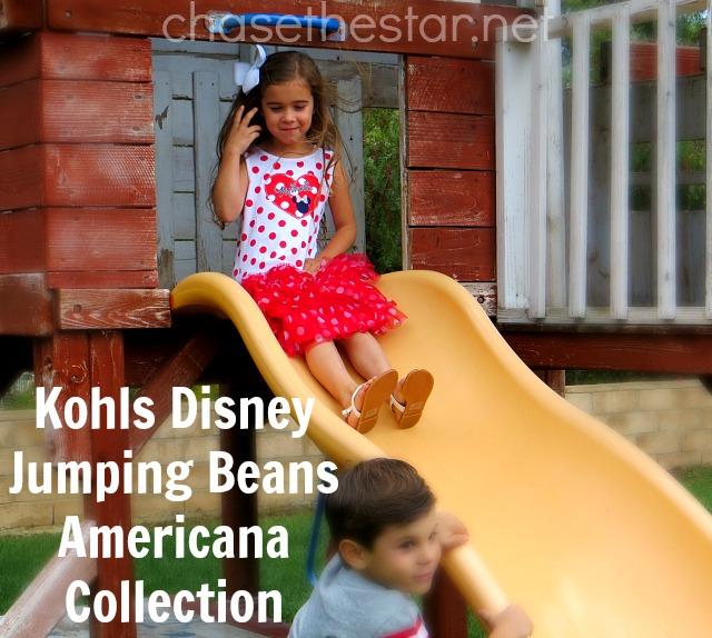 #Kohls Disney Jumping Beans Americana Collection for Girls #Sponsored #MC #MagicAtPlay