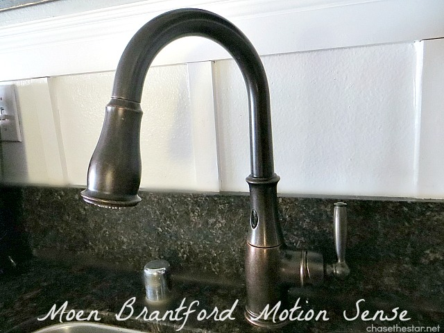 I'm In Love..With A Faucet! {Moen Motionsense}
