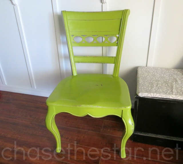 Craigslist Chair via Chase the Star