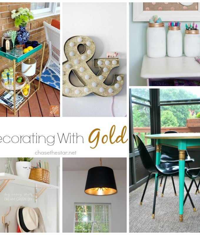Decorating With Gold