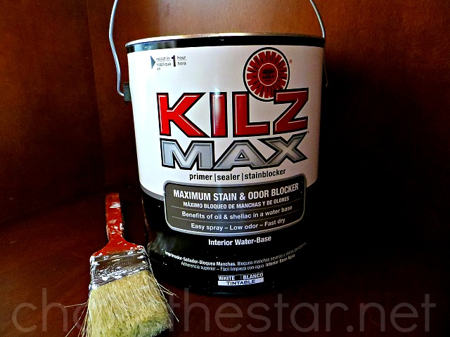 How To Paint Laminate Furniture via Chase the Star @KILZBrand #sponsored