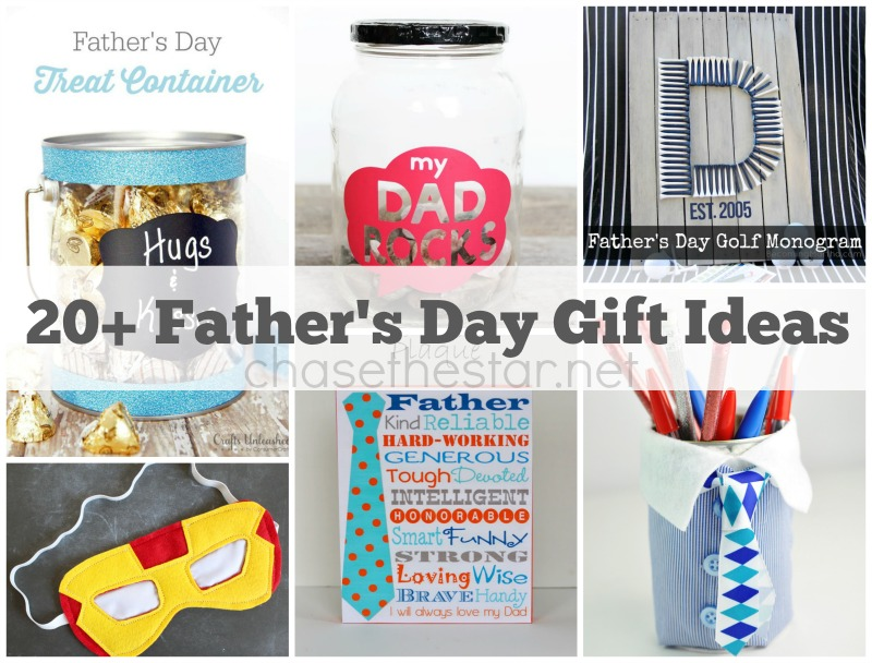 20+ Father's Day Gift Ideas via Chase the Star