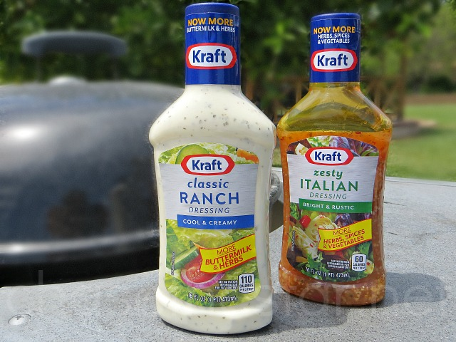 Backyard Ranch Burgers with Kraft Ranch Dressing #FoodDeservesDelicious #CollectiveBias via Chase the Star